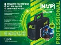 Сварочный инвертор NVP ММА-295 + пластиковый кейс