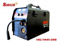 Сварочный полуавтомат Sirius MIG/MAG/MMA/ TIG-298