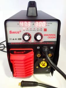 Сварочный полуавтомат Sirius MIG/MMA-300M