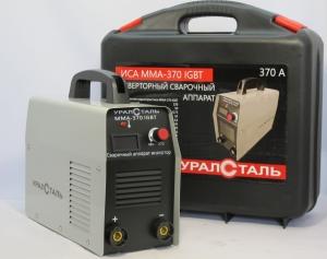 Сварочный инвертор Уралсталь ИСА ММА 370 (кейс)