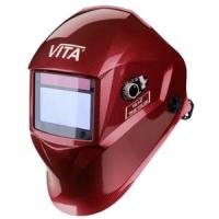 Маска сварщика хамелеон VITA TIG 3-A TrueColor (цвет красный)